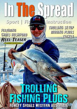 trolling swimming plugs in the spread fishing video wahoo yellowfin tuna